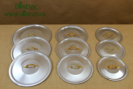 Aluminium Lids with Gold Handles