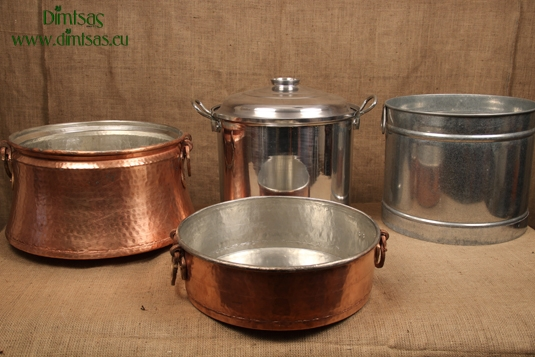 Cauldrons Copper - Aluminium - Stainless Steel - Galvanized