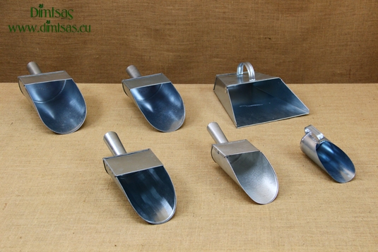 Metallic Galvanized Scoops
