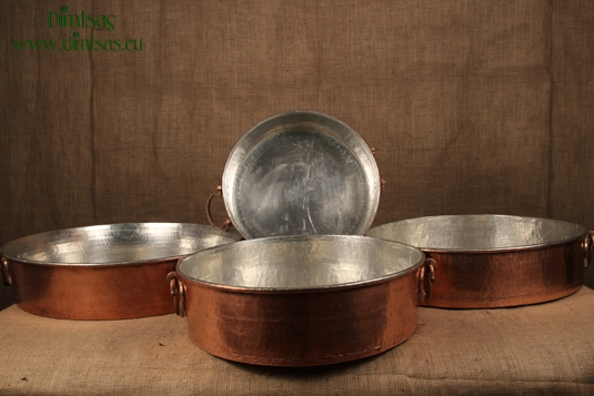 Copper Round Baking Pans