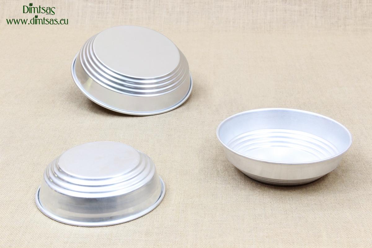 Aluminium Bread Baskets Silver