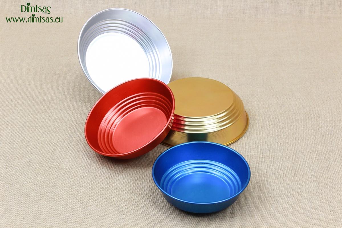 Aluminium Bread Baskets Blue