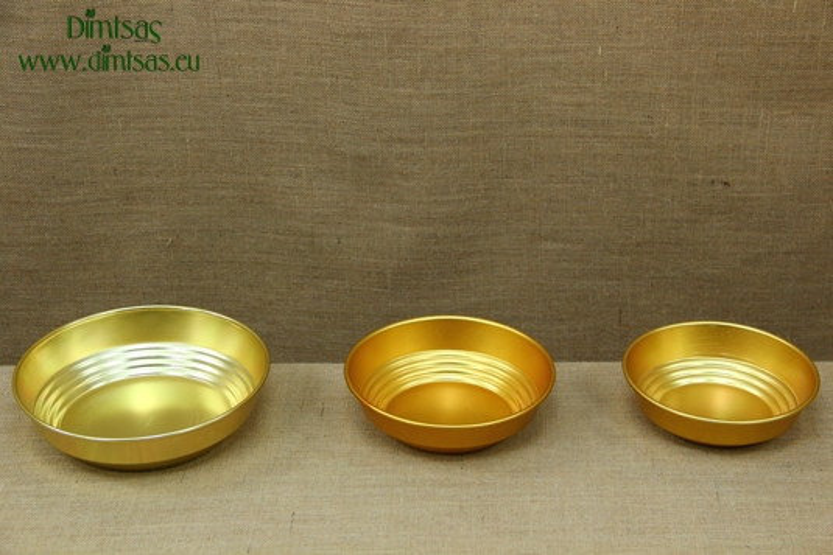 Aluminium Bread Baskets Gold