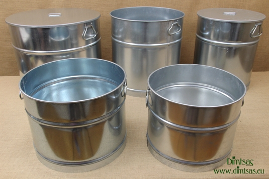 Galvanized Sheet Metal Cauldrons