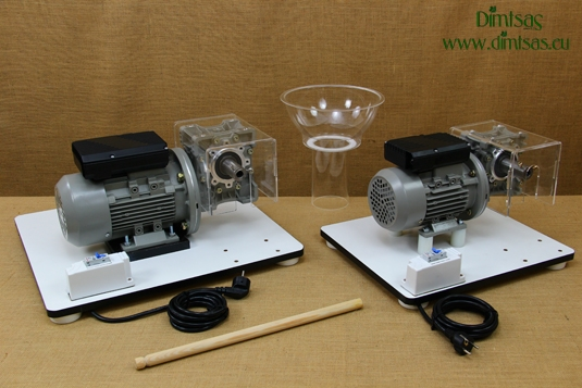 Kit with Motor & Reduction Gearbox for Wondermill Hand Grain Mills