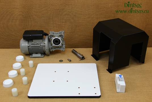 Spare Parts for the Kit with Motor & Reduction Gearbox for WonderMill Hand Grain Mills