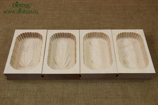 Butter Moulds Wooden 400 gr