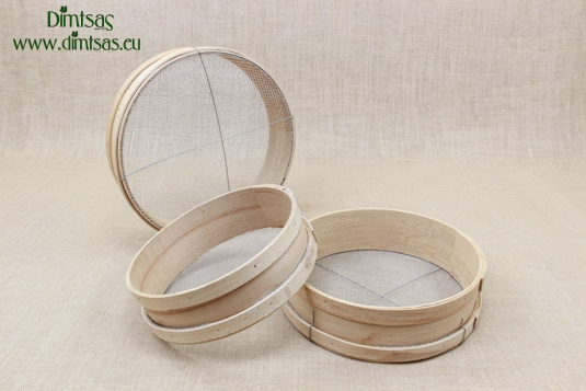 Sieves for Frumenty Wooden with Holes 4x4 mm