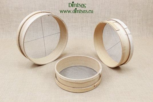 Sieves for Frumenty Wooden with Holes 4x3 mm