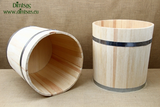Wooden Barrels for Decoration