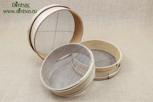Sieves for Frumenty Wooden with Holes 3x2 mm