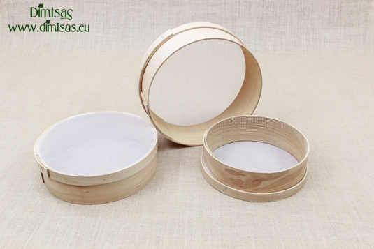 Sieves for Flour Wooden with Plastic Screen