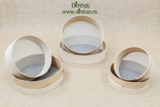 Sieves for Flour Wooden with Wire Screen