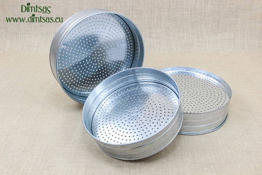 Sieves for Frumenty Metallic with Holes 4 mm
