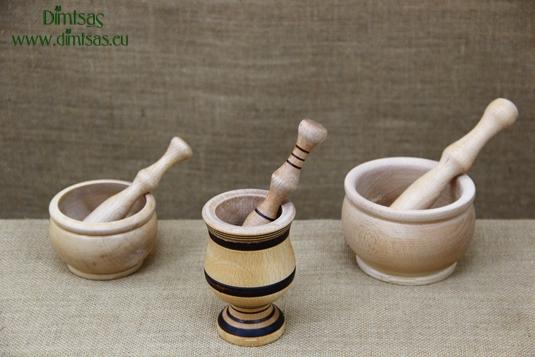 Wooden Mortars Small
