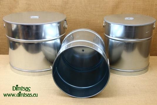 Galvanized Metal Sheet Cauldrons Deep