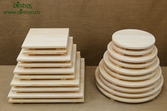 Wooden Cutting Surfaces - Wooden Serving Plates
