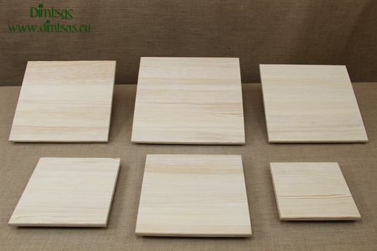 Square Wooden Cutting Surfaces - Wooden Serving Plates