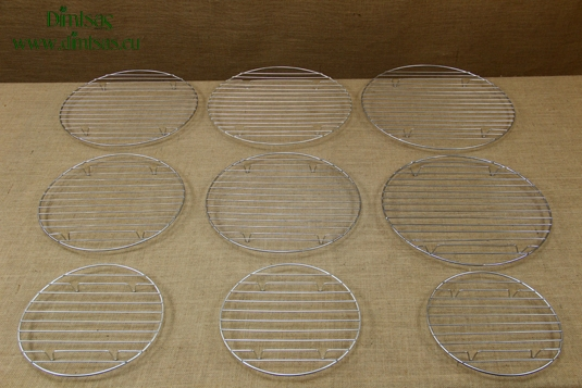 Round Grill Cooking Grates with Stable Legs