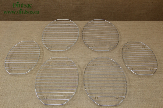 Oval Grill Cooking Grates with Stable Legs