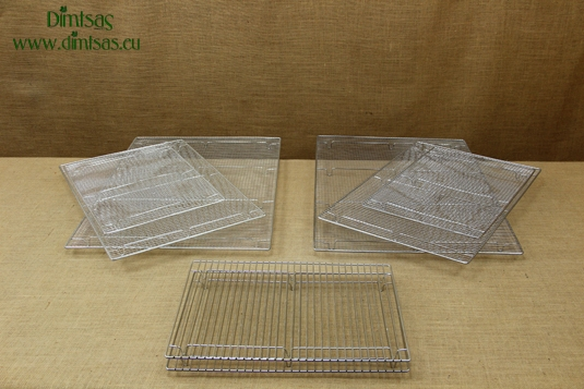 Rectangular Confectionery Grill Cooking Grates with Stable Legs