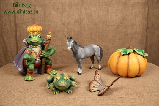 Garden Ornaments - Painted Clay Figures - Wall Figures