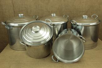 Aluminium Marmites - Stock Pots