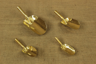 Brass Scoops