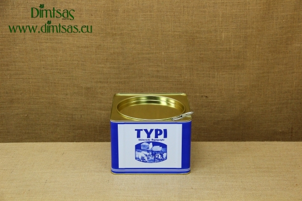 Tin Container for Cheese 1/2 Goat