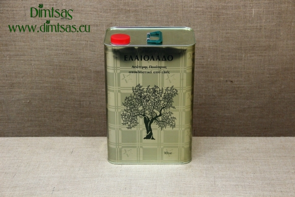 Tin Container for Olive Oil 10 liters
