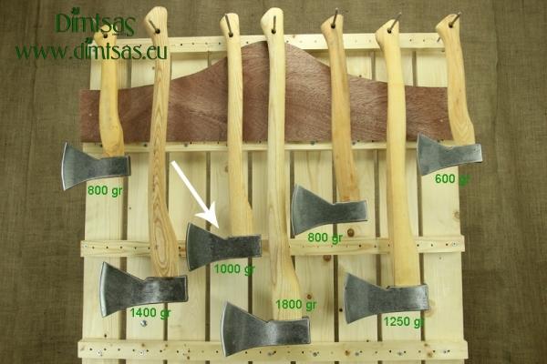 Τσεκούρι για Σχίσιμο & Κοπή Ξύλων 1.8 Κιλών με Ξύλινο Στυλιάρι