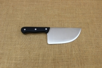 Cleaver Stainless Steel for Bougatsa 15 cm with Black Handle First Depiction