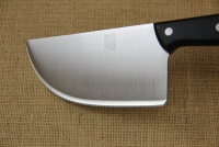 Cleaver Stainless Steel for Bougatsa 15 cm with Black Handle Fifth Depiction