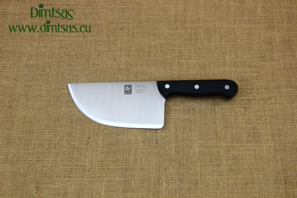 Cleaver Stainless Steel for Bougatsa 15 cm with Black Handle