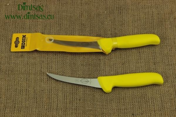 Μαχαίρι Ξεκοκκαλίσματος Mastergrip Καμπυλωτό Άκαμπτο 13 εκ. Κίτρινο