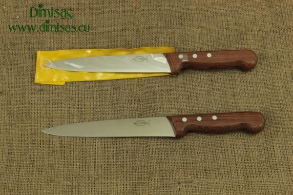 Μαχαίρι Σφαξίματος & Φεταρίσματος 21 εκ. με Ξύλινο Χερούλι