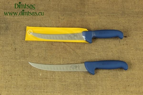 Μαχαίρι Καμπυλωτό Κρεοπωλών ή Φεταρίσματος 26 εκ. με Πτυχώσεις