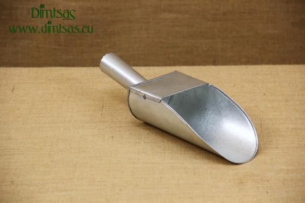 Metallic Galvanized Scoop No6
