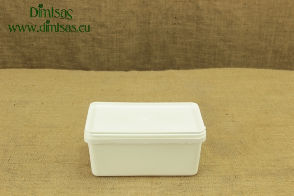 Cheese Container Rectangular 2 Kg or 2.4 lit