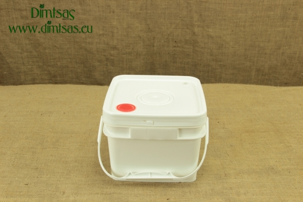 Cheese Container Square 8 Kg or 10 lit