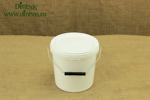 Cheese Container Round Narrow-Tall 5 Kg or 5.3 lit