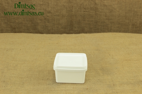 Cheese Container Square 1 Kg or 1.2 lit