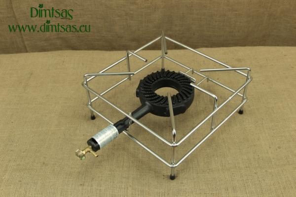 Συσκευή Υγραερίου Υψηλής Απόδοσης Ηφαίστειο Χρωμιωμένο