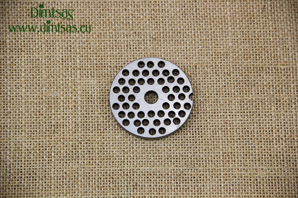 Stainless Steel Plate for Meat Mincer No5 10 mm