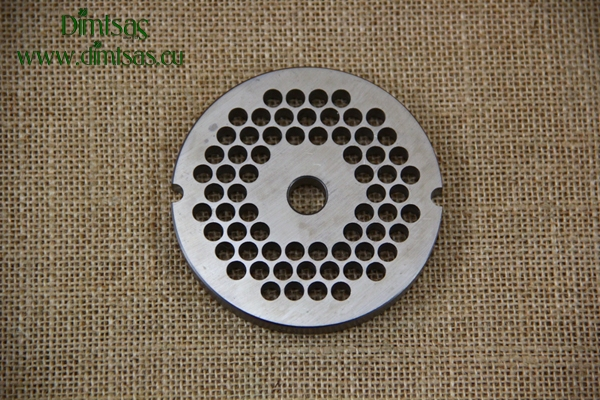 Stainless Steel Plate TRIS for Meat Mincer No22
