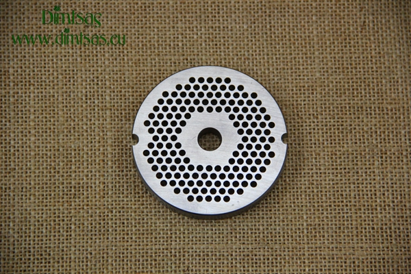 Stainless Steel Plate for Meat Mincer No10/12 3 mm