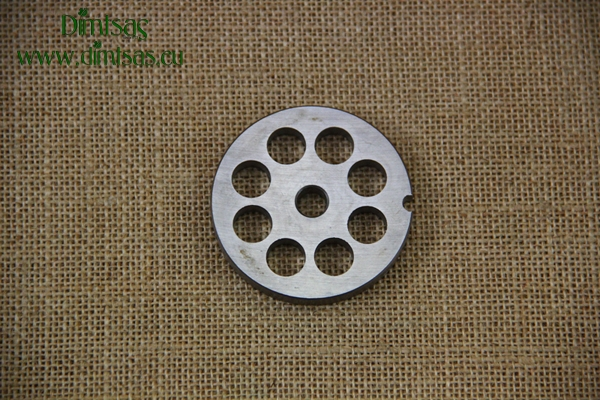 Stainless Steel Plate for Meat Mincer No8 12 mm