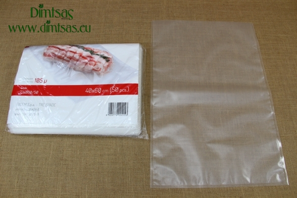Embossed Vacuum Bag 40x60 cm (50 pcs)