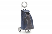 Shopping Trolley Bag Market Queen Blue Ninth Depiction