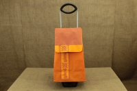 Shopping Trolley Bag Ideal Step Orange Third Depiction
